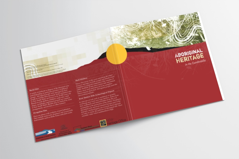 Aboriginal Heritage cover design