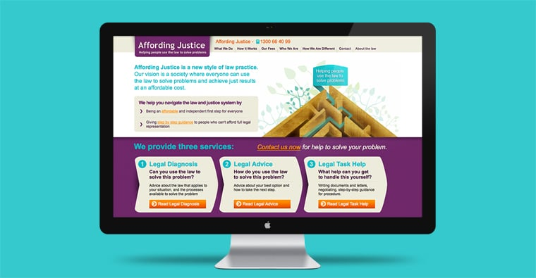 Affording-Justice-Website