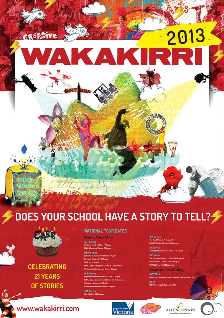 key-art design wakakirri