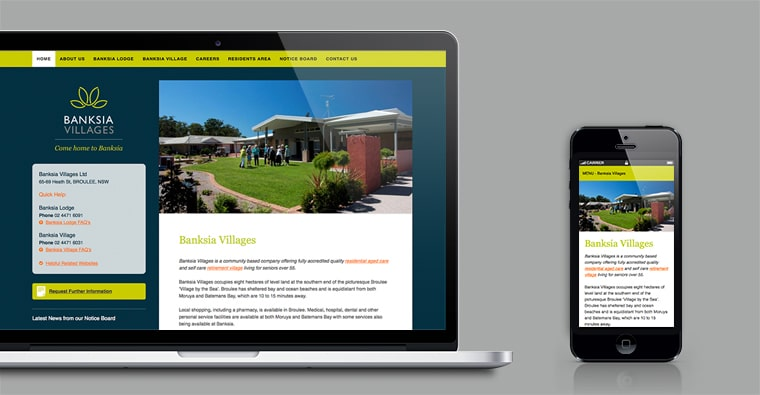 Eurobodalla Website Design responsive mobile friendly