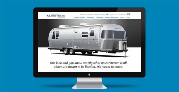 Airstream website