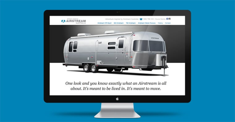 Batemans Bay Website Design Airstream Australia