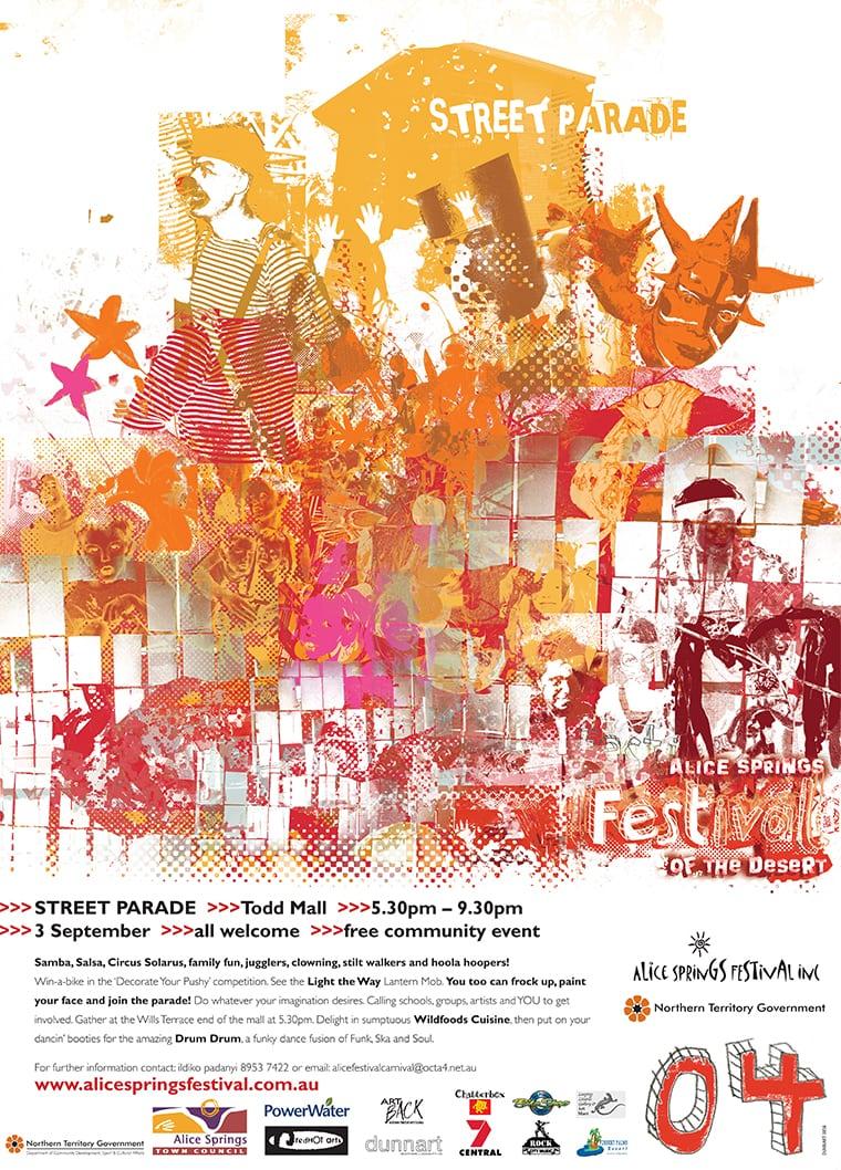 alice springs festival poster