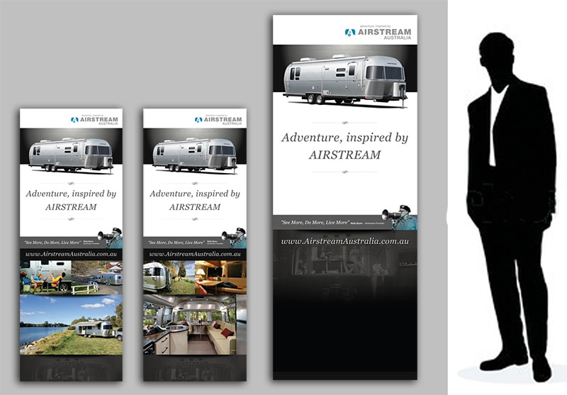 airstream banner design