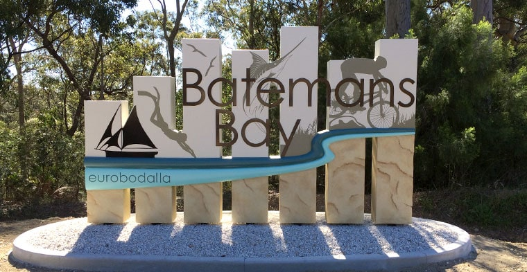 Batemans Bay Sign Design