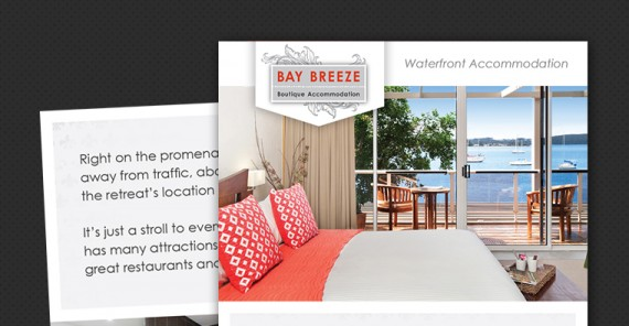 bay breeze brochure design
