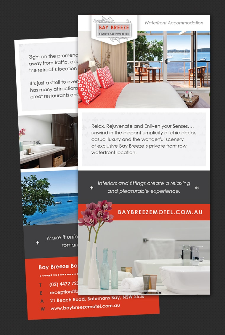 accommodation brochure