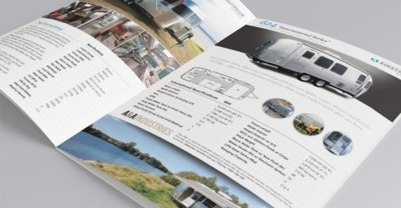 brochure design airstream