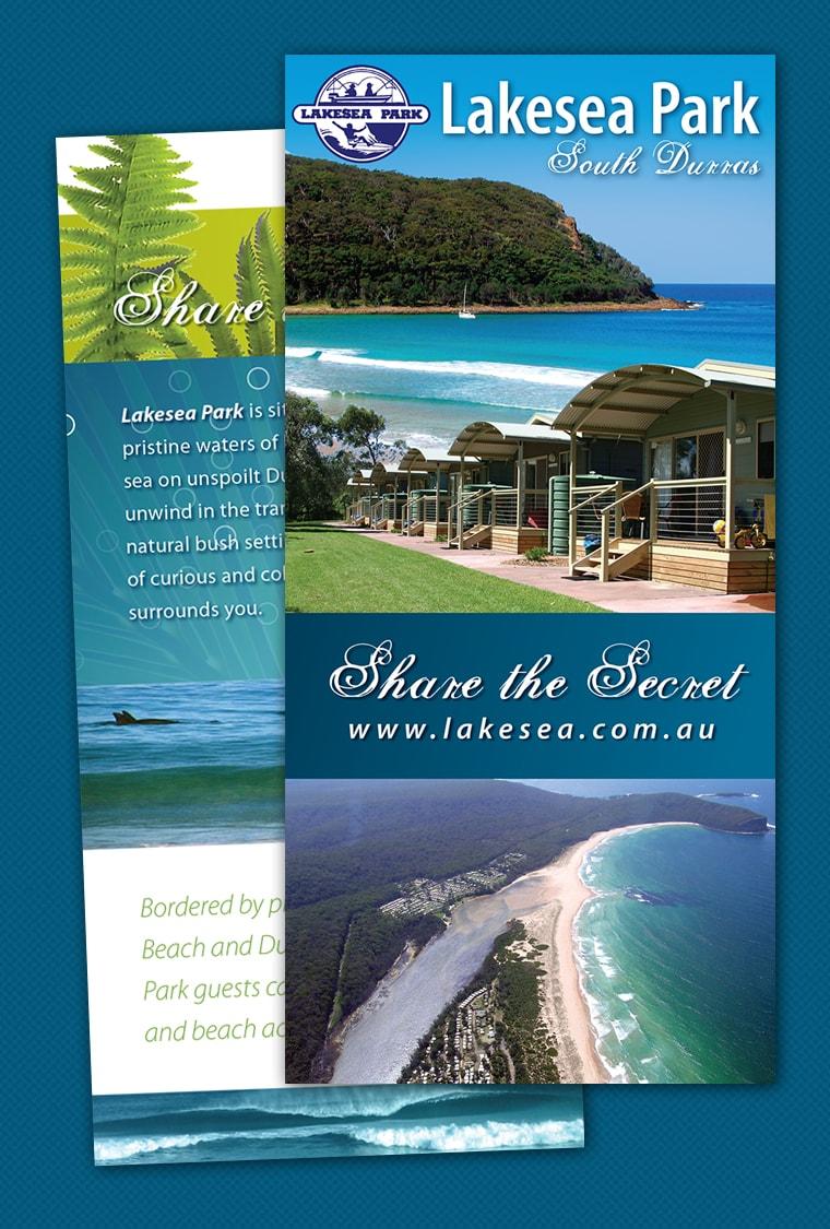 caravan site brochure