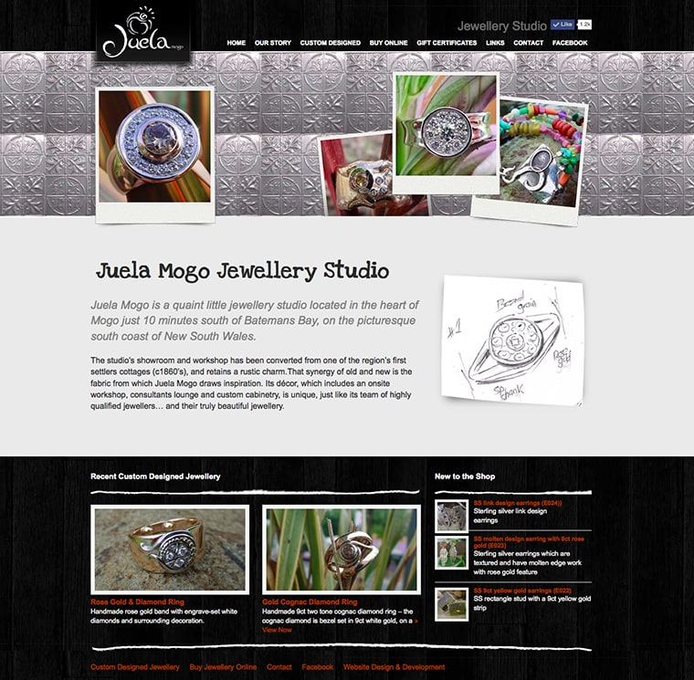 juela mogo wordpress website