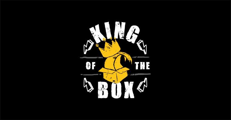 king of the box logo