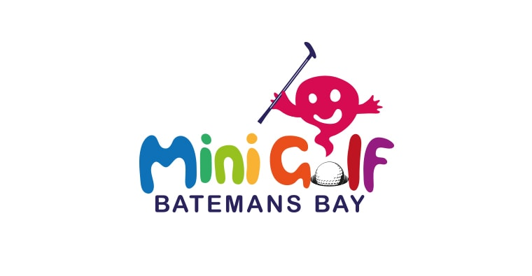 mini golf logo design