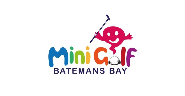 mini golf logo design