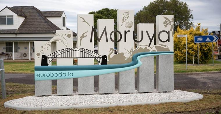 Moruya Town Sign