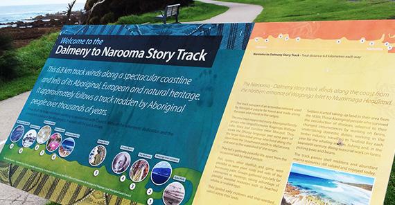 narooma dalmeny signage