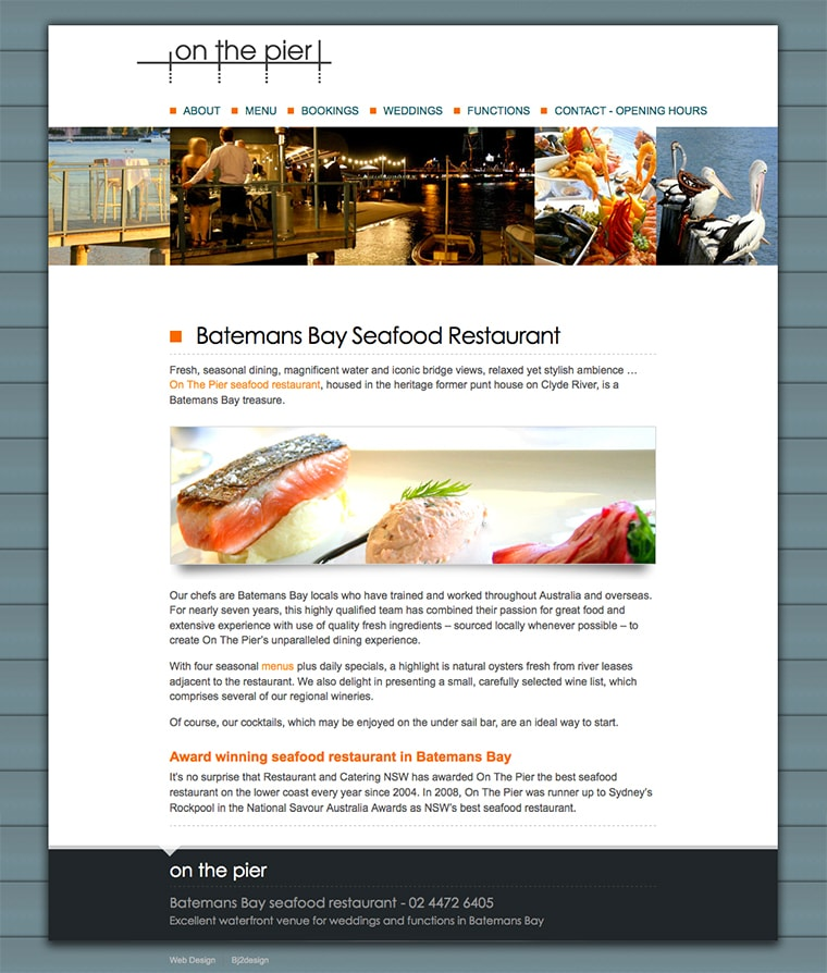 Batemans bay web design