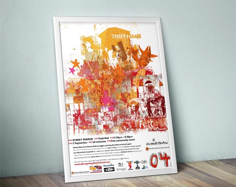 Alice Desert Festival Poster