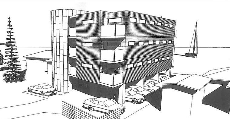 building rendering illustration