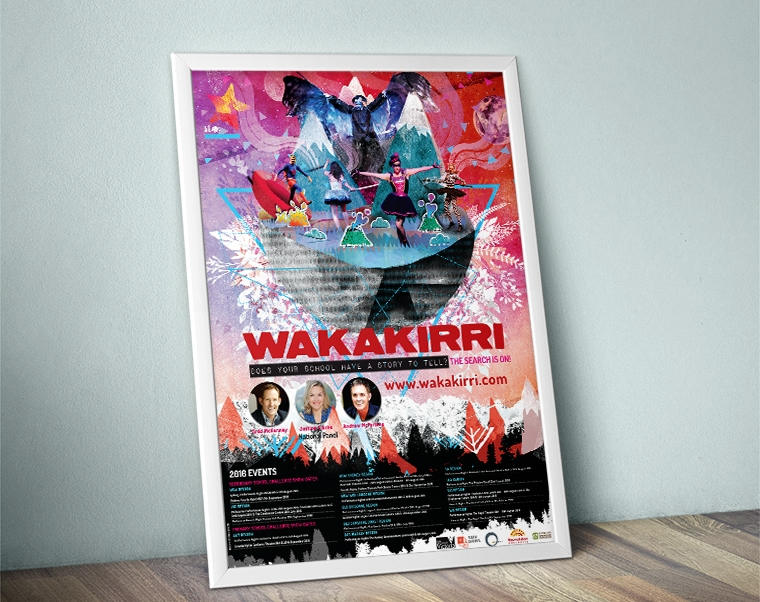 wakakirri poster design 2016