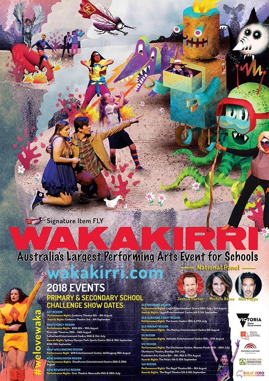 wakakirri poster designer